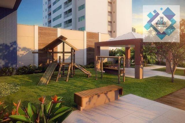 Apartamento com 3 dormitórios à venda, 68 m² - Benfica - Fortaleza/CE - Foto 7