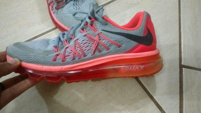 sports shoes 80bd0 91f1e Tenis Nike Air Max, número 36, coral