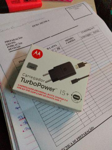 Carregador turbo de Motorola
