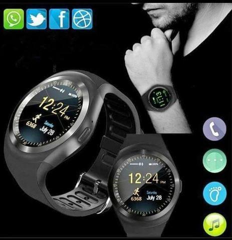 580c4462221 Smartwatch relógio celular inteligente Bluetooth - Bijouterias ...
