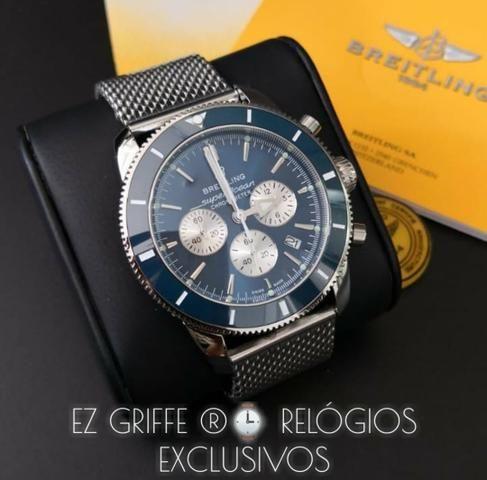 2c3e87bcd4b BREITLING ® Exclusivos - Preço IMBATÍVEL Confira - Bijouterias ...
