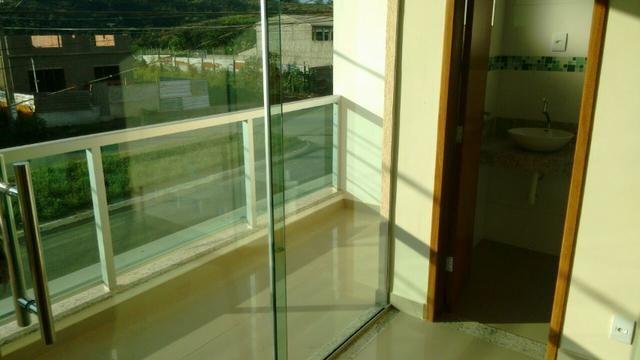 Casa em Ipatinga, 3 qts/suite, 110 m², 2 vags 5x5 mts, piso porc retif. Valor 240 mil - Foto 2