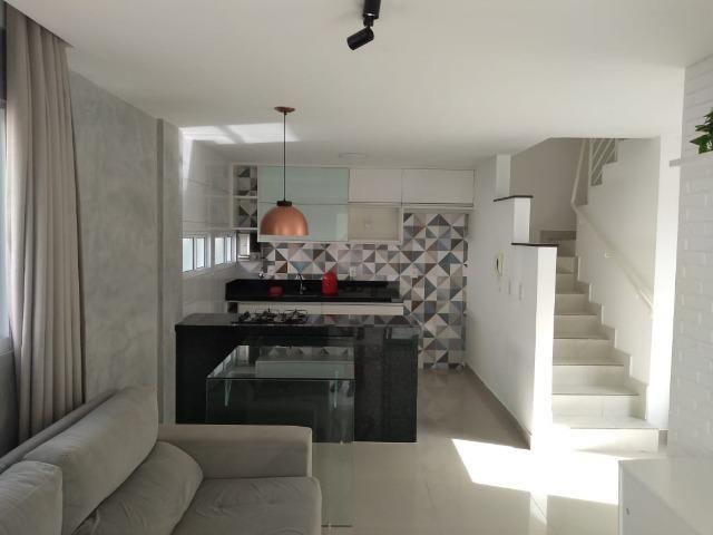 Vendo lindo duplex mobiliado em condomínio fechado em nova parnamirim