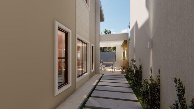 Casa de alto  padrão, 4 suítes,  3 vagas, rua privativa, lote 8 m de largura  - Foto 6
