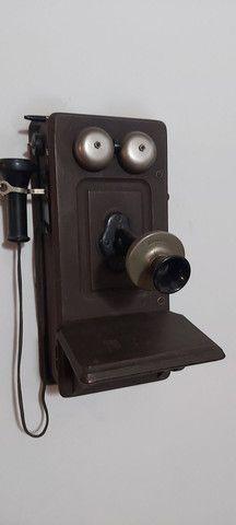 Raro telefone Kellogg começo século XX