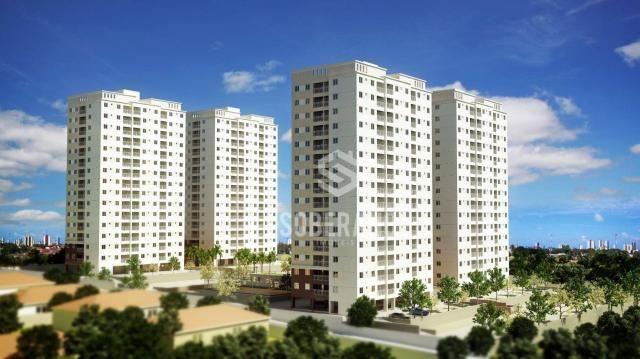 Apartamento com 3 dormitórios à venda, 70 m² por R$ 33.631 - Jardim Cidade Universitária - - Foto 2