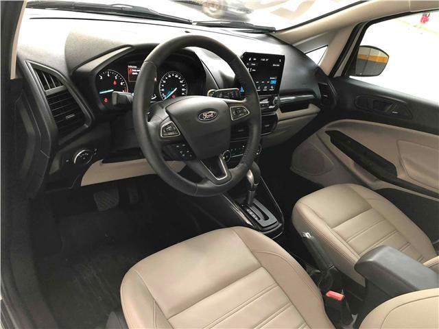 Ford Ecosport 1.5 ti-vct flex titanium automático - Foto 13
