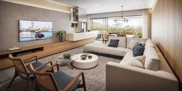 Miragio Cacupé - Apartamento de 3 suítes bem localizado em Florianópolis, SC - Foto 9
