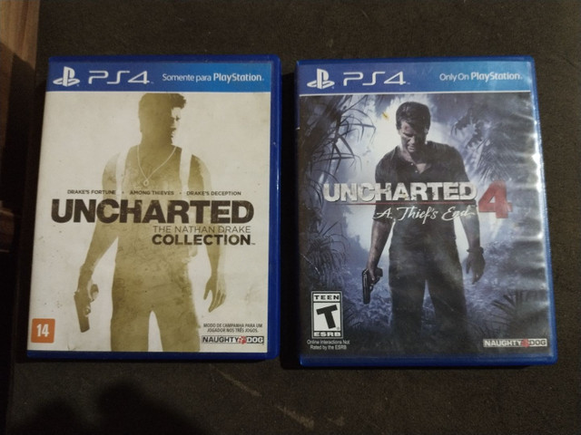 Jogos uncharted ps4