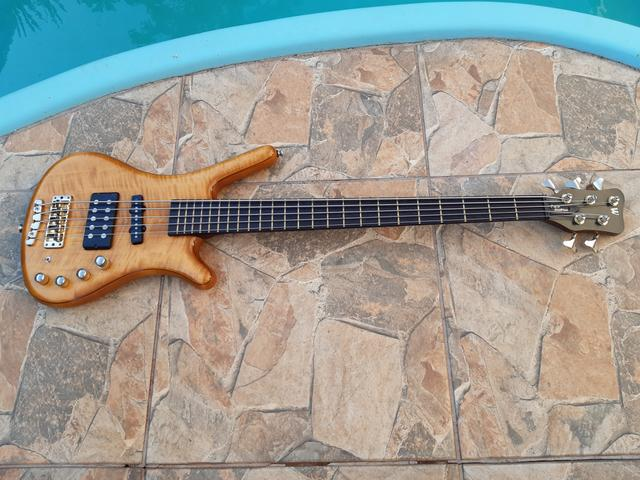 Baixo Warwick Corvette Double Buck 5 Made in Germany - Foto 5