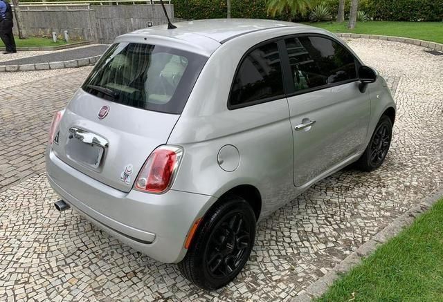 Fiat 500 cult 1.4 flex 2012 mecânico 2020 pago oportunidade - Foto 3
