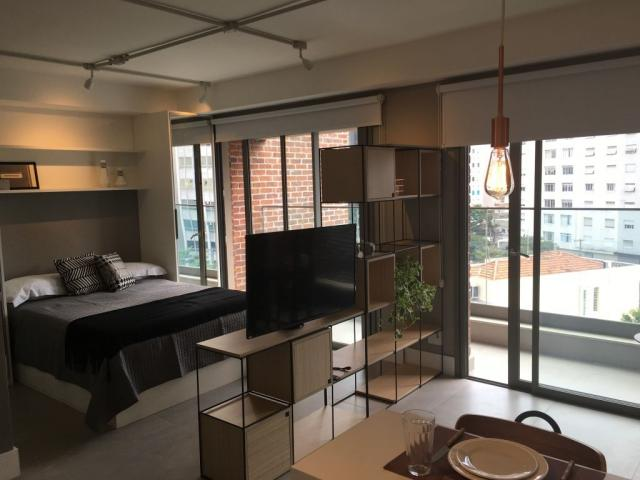 Studio para locação, Jardim Paulista, 43m², 1 vaga!