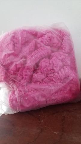 Touca rosa Protdesc pacote com 100 un