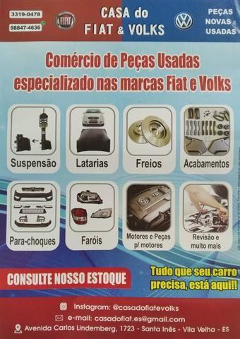 Fiat brava 1.6 venda de peças seminovas originais - Foto 2