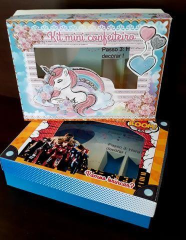 Caixas kit mini confeiteiro - Foto 4