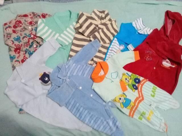 Lote de roupas de bebê menino (37 Itens)