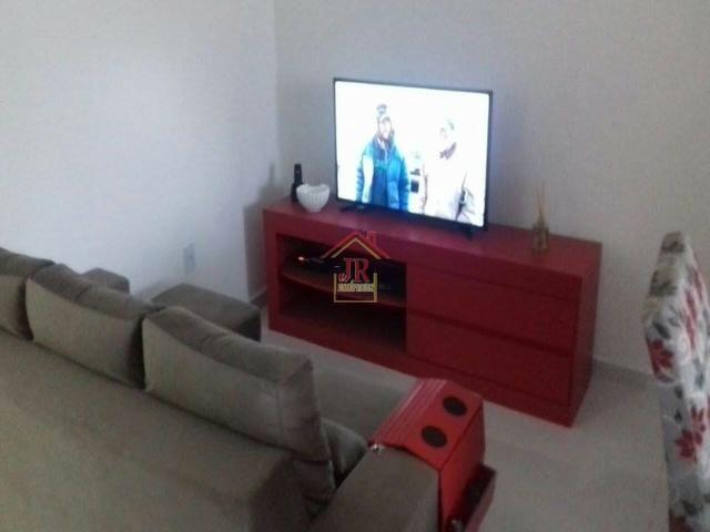 AL@-Apartamento mobiliado com 02 dormitórios com suíte + 01 banheiro social - Foto 9