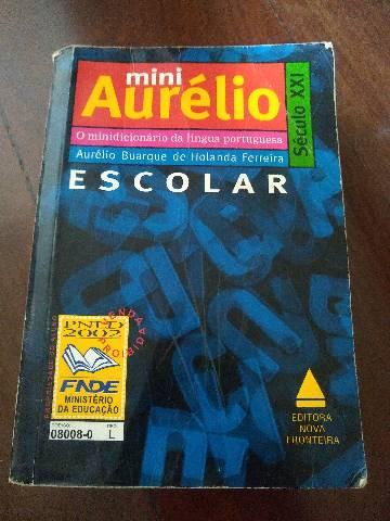 Mini dicionário Aurélio