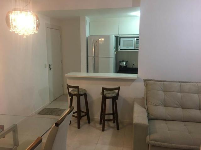 Apartamento 3 quartos, 2 vagas, mobiliado no Villaggio Manguinhos em Morada de Laranjeiras - Foto 4