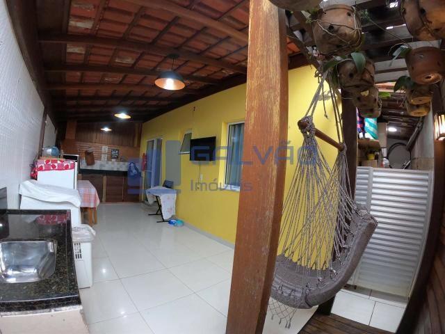 JG. Linda casa de 2 quartos no Vila Itacaré - Praia da Baleia, Manguinhos, Serra - ES - Foto 3