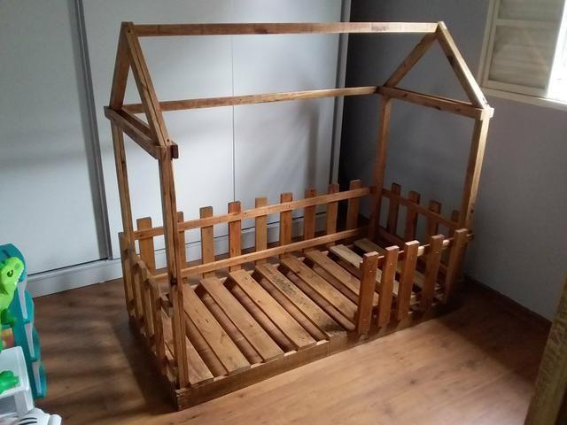 Cama Montessori sob encomenda