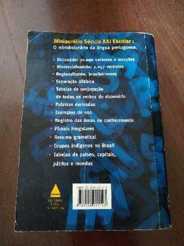 Mini dicionário Aurélio  - Foto 2