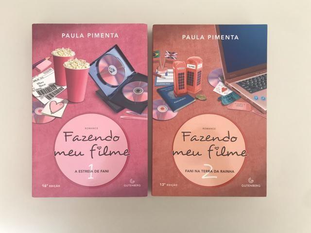 Livro 1 e 2 de Fazendo Meu Filme