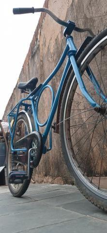 Troco ou vendo bicicleta monark cachinbada original - Foto 6
