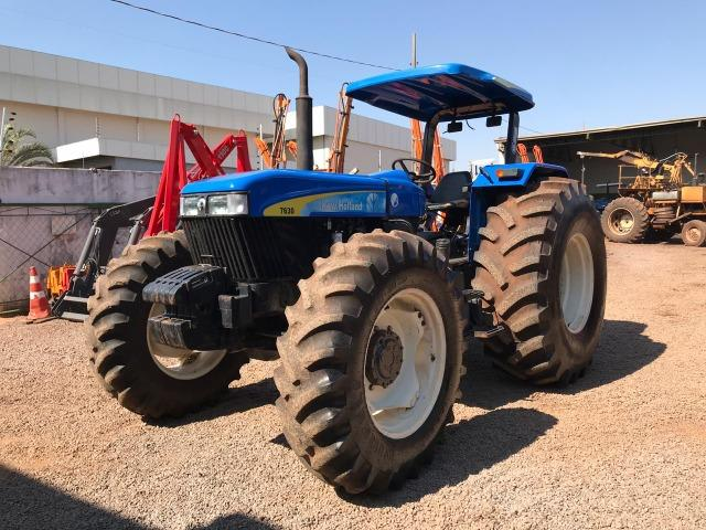 New Holland 7630 4x4 ano 2008