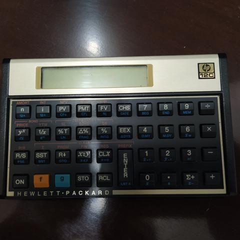 Calculadora HP 12C Gold - Foto 2