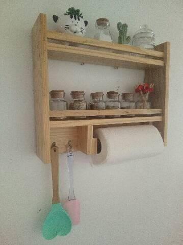 Fabricamos móveis e peças decorativas, com paletes ,sob encomenda - Foto 6