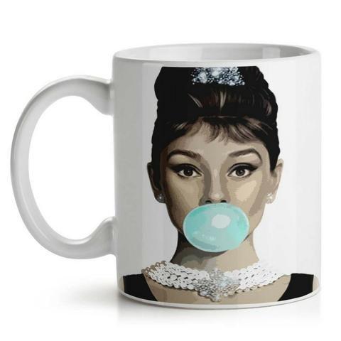 Caneca Retrô Audrey Hepburn - Foto 2