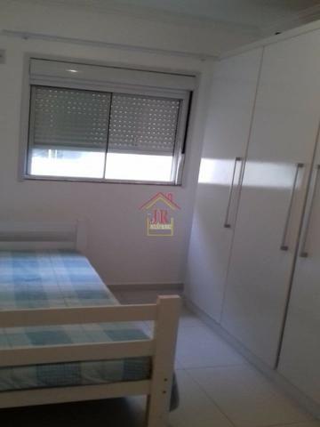 AL@-Apartamento mobiliado com 02 dormitórios com suíte + 01 banheiro social - Foto 6