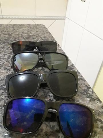Vendo Oculos solares todos por 100 Reais . Aceito troca em algo do meu interesse - Foto 2