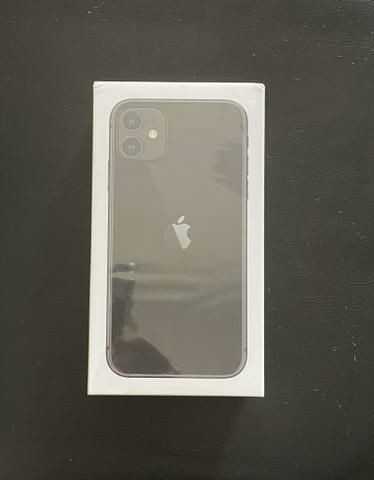 iPhone 11 64gb preto novo lacrado - pronta entrega