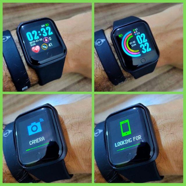 Relógio Inteligente Fit Sono Batimento Cardiaco  - Foto 3