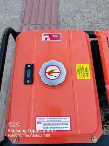 Gerador diesel 10 HP 6000 W - Foto 4
