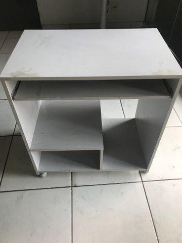 Mesa para computador cinza - Foto 2
