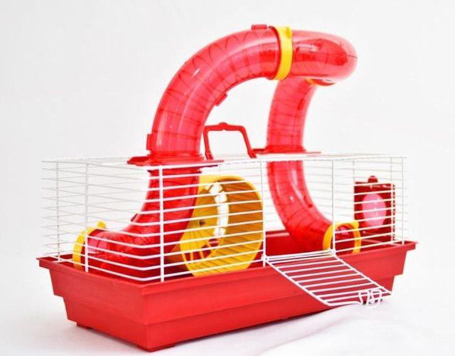 Gaiola Para Hamster Montada Playground Completa
