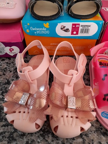 Sandalias infantis menina - Foto 2