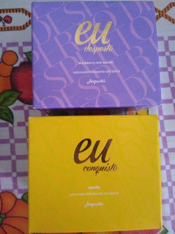 6 kits de Sabonetes Hidratante Linha Eu Jequiti - Foto 3