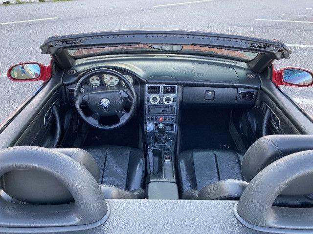 Mercedes SLK 230 - mecânica- vermelha - 1996/1997 - Foto 14