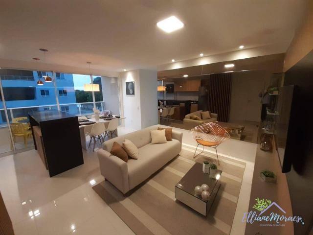 Apartamento à venda, 73 m² por R$ 288.115,00 - Centro - Eusébio/CE - Foto 3