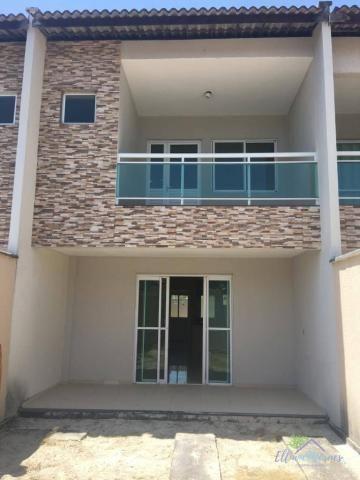 Casa à venda, 120 m² por R$ 280.000,00 - Lagoinha - Eusébio/CE - Foto 2