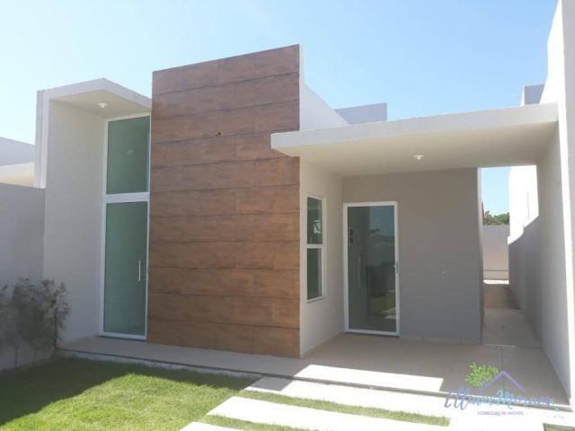 Casa com 3 dormitórios à venda, 85 m² por R$ 249.000,00 - Encantada - Eusébio/CE