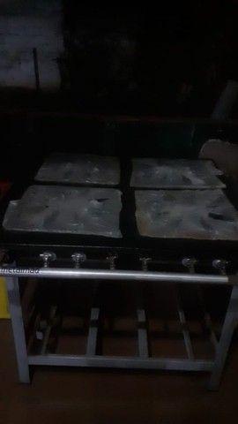 Forno e fogão a gás  industrial  - Foto 2
