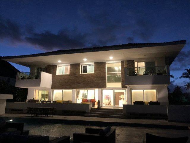 CM - Casa à beira mar em Paiva-PE, 1517m² com 4 suítes em condomínio - Foto 2