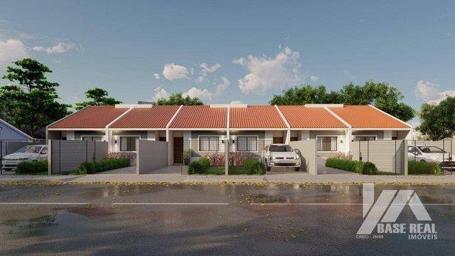 Casa com 2 dormitórios à venda, 50 m² - Boa Vista - Ponta Grossa/PR - Foto 3