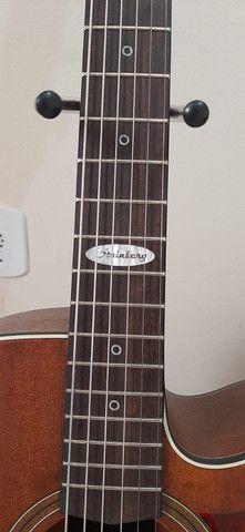 Violão Folk Strinberg Black Series Guitars - Foto 4