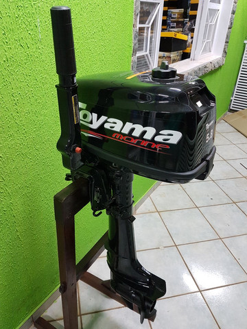 MOTOR DE POPA TOYAMA TM 5.8TS 102CC GASOLINA   - Foto 3